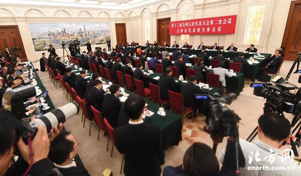天津代表团媒体开放日答记者问:深入实施京津冀协同发展战略 保持战略定力推动高质量发展